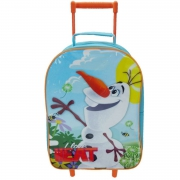 Disney Frozen 'Olaf' School Travel Trolley Roller Wheeled Bag