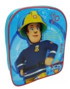 Fireman Sam Blue School Bag Rucksack Backpack