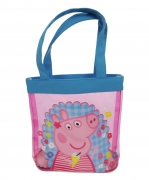Peppa Pig 'Holiday' Pvc Tote Bag Shopping Shopper