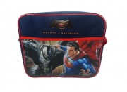 Batman vs Superman Junior Justice 'Courier' School Shoulder Bag