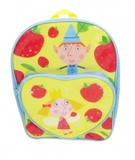 Ben and Holly 'Heart Pocket' School Bag Rucksack Backpack