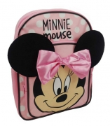 Disney Minnie Mouse '3d Ears' Arch Pocket School Bag Rucksack Backpack