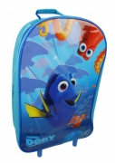 Disney Finding Nemo 'Dory' Coral Capers Pvc Front School Travel Trolley Roller Wheeled Bag