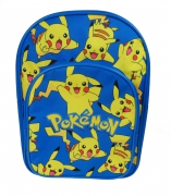 Pokemon 'Pikachu' Arch Pocket School Bag Rucksack Backpack
