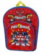 Power Rangers Saban'S ' Arch Pocket' School Bag Rucksack Backpack