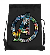 Avengers 'Action' School Trainer Bag