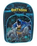 Batman 'Power' Arch Pocket School Bag Rucksack Backpack