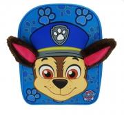 Paw Patrol 'Chase' Plush Ears School Bag Rucksack Backpack