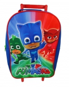 Disney Pj Masks 'It' S Time To Be a Hero' School Travel Trolley Roller Wheeled Bag