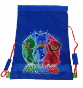 Disney Pj Masks 'It' S Time To Be a Hero' Drawstring School Pe Gym Trainer Bag