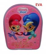 Shimmer & Shine Wish 3d School Bag Rucksack Backpack