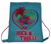 Trolls Rock-n-troll! Drawstring School Pe Gym Trainer Bag