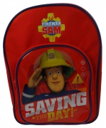 Fireman Sam Saving The Day School Bag Rucksack Backpack
