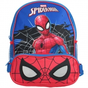 Spiderman Reflective Eyes School Bag Rucksack Backpack