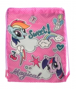 My Little Pony Sweet Magfical Drawstring School Pe Gym Trainer Bag