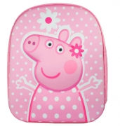 Peppa Pig Eva 3d Dots School Bag Rucksack Backpack
