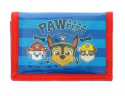 Paw Patrol 3 Barks Teamwork Blue Red Wallet