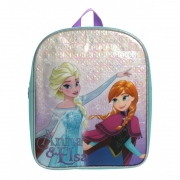 Disney Frozen Snowflake Anna & Elsa School Bag Rucksack Backpack
