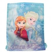 Disney Frozen Anna Elsa Drawstring School Pe Gym Trainer Bag