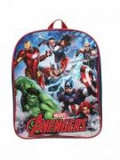 Kids Marvel Avengers Team Force Plain School Bag Rucksack Backpack