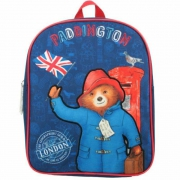 Paddington Bear London England Flag School Bag Rucksack Backpack