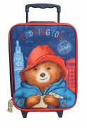 Paddington Bear London School Travel Trolley Roller Wheeled Bag