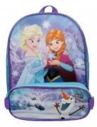 Frozen Anna Elsa with Olaf Pencil Case School Bag Rucksack Backpack