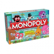 Moshi Monsters Monopoly Board Game Puzzle