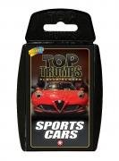 Sports Cars 'Top Trumps' Card Game