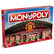 Manchester United Fc Monopoly Football Board Game Official