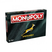Monopoly Springboks Black Board Game