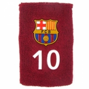Barcelona Fc No 10 Football Wristband Official Accessories