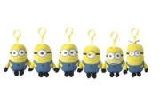 Despicable Me 2 'Minion' 5 inch Assorted Backpack Clip School Bag Rucksack