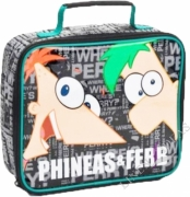 Phineas and Ferb School Premium Lunch Bag Insulated