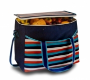 Lunch Cooler Black Insulated Cool Bag Polar Gear