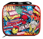 Marvel Avengers Comics School Rectangle Lunch Bag