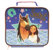 Spirit Polyester Purple Lunch Box Bag