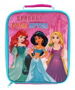 Princess Sparkly Pink School Premium Lunch Bag Insulated