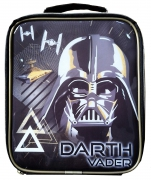 Star Wars Black Vertical Lunch Box Bag