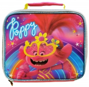 Trolls World Tour Poppy Pink Rainbow Lunch Box Bag