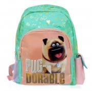 The Secret Life of Pets 'Pug-dorable' with Pockets School Bag Rucksack Backpack