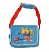 Minions Movie 'British Minion Moped' Messenger School Despatch Bag