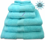 Towel Egyptian Jumbo Sheet Duck Egg Plain