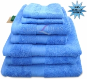 Towel Egyptian Jumbo Sheet China Blue Plain