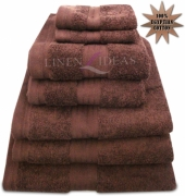 Towel Egyptian Jumbo Sheet Chocolate Plain