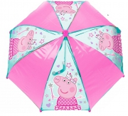 Peppa Princess Pvc School Rain Brolly Umbrella