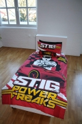 Bbc Worldwide Top Gear Panel Single Bed Duvet Quilt Cover Set