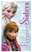 Disney Frozen Towel Sisters Printed Beach