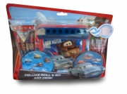 Disney Cars 'Deluxe' Roll & Go Art Desk Stationery