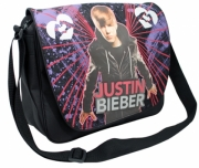 Justin Bieber 'Messenger' School Despatch Bag
